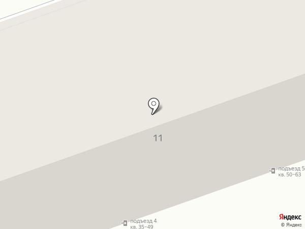 Светлана на карте Абакана