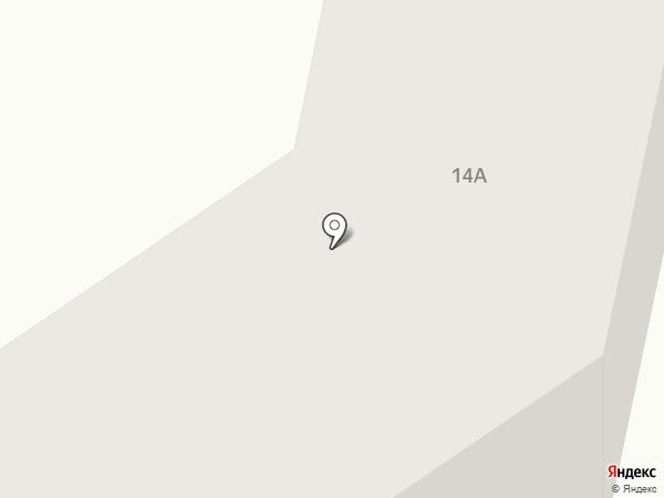 АбаканРемПуть на карте Абакана