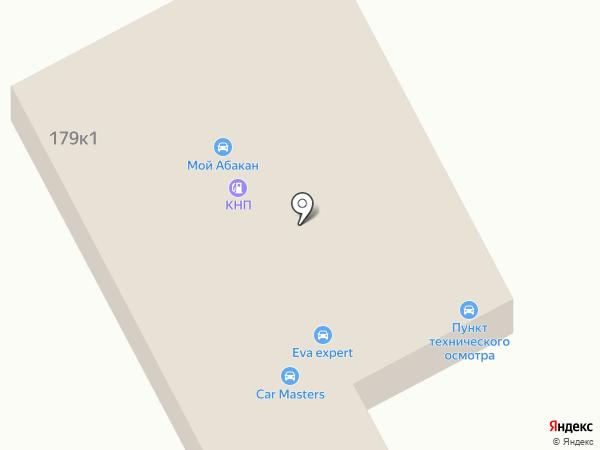 Сибнефть на карте Абакана