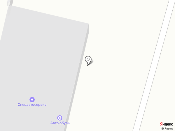 Сеть магазинов автотоваров и техобслуживания на карте Абакана