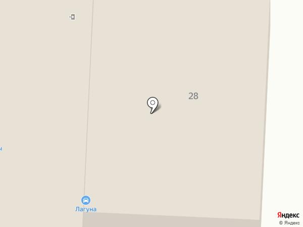 Сибирь Колесо на карте Абакана