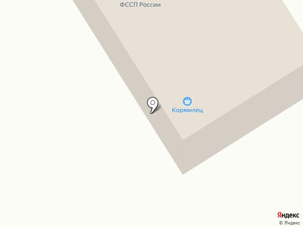 Отдел службы судебных приставов по Усть-Абаканскому району на карте Усть-Абакана