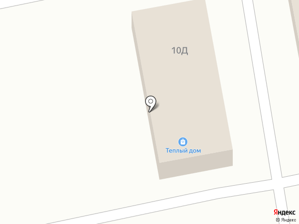 Теплый дом на карте Абакана