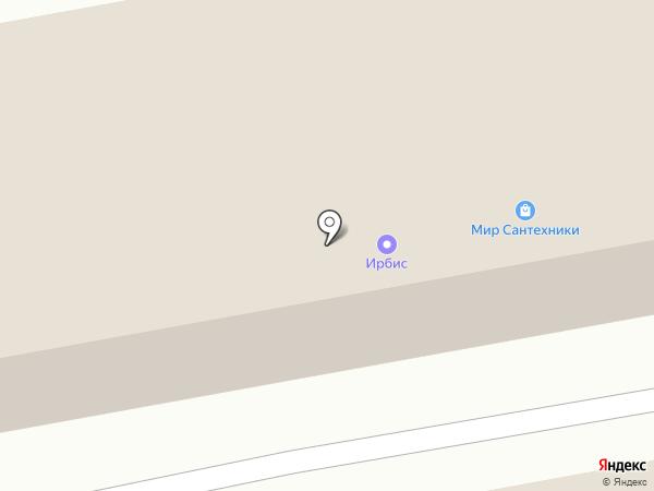 Аршановское на карте Абакана