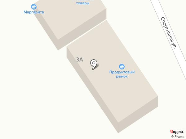 Магазин продуктов на карте Усть-Абакана