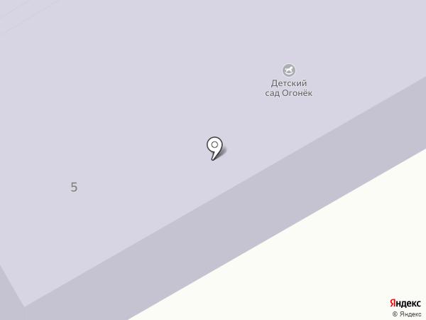 Огонек на карте Абакана