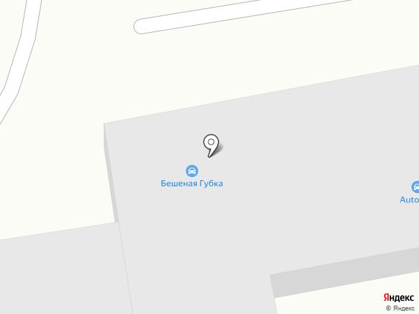 Ас-салам на карте Абакана