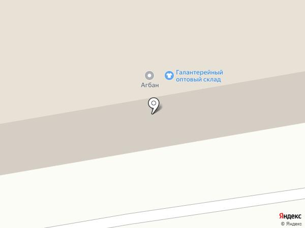 Ирбис на карте Абакана