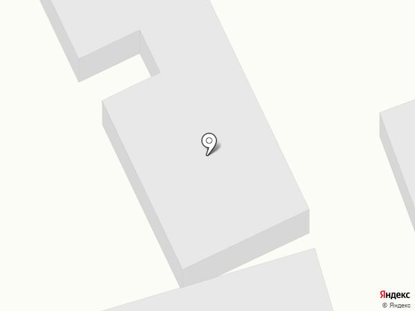 Мустанг на карте Абакана