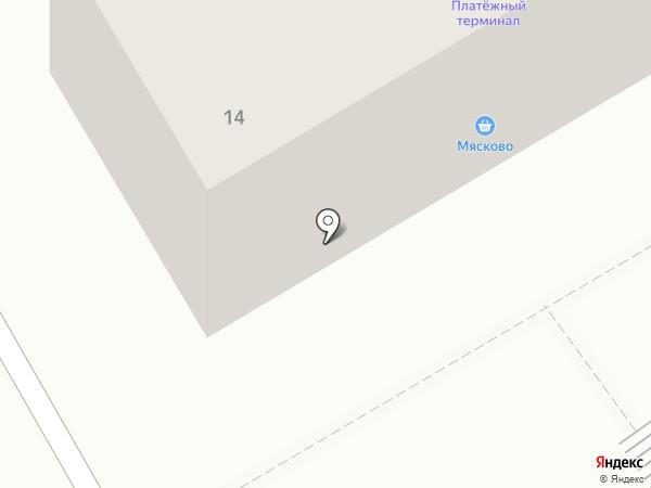 Тинатин на карте Абакана