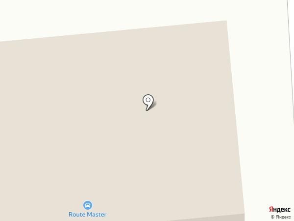 ХТК на карте Абакана
