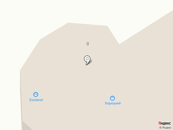 Московская ярмарка на карте Абакана