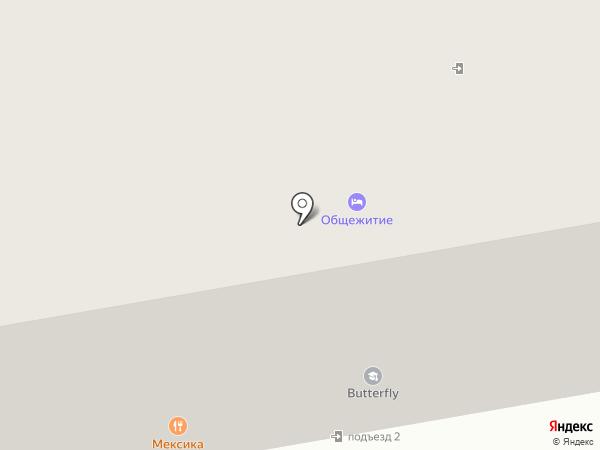 Жанна на карте Абакана