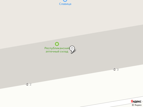 Нобеля на карте Абакана