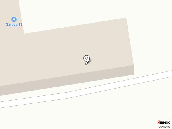 Гарант на карте Абакана
