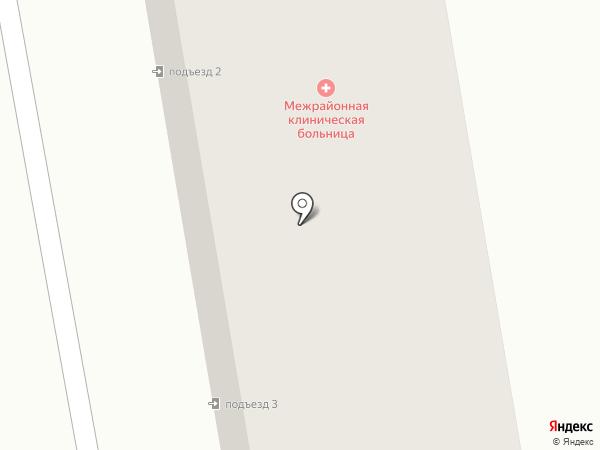 Абаканская городская клиническая поликлиника на карте Абакана