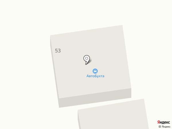 Автобухта на карте Абакана