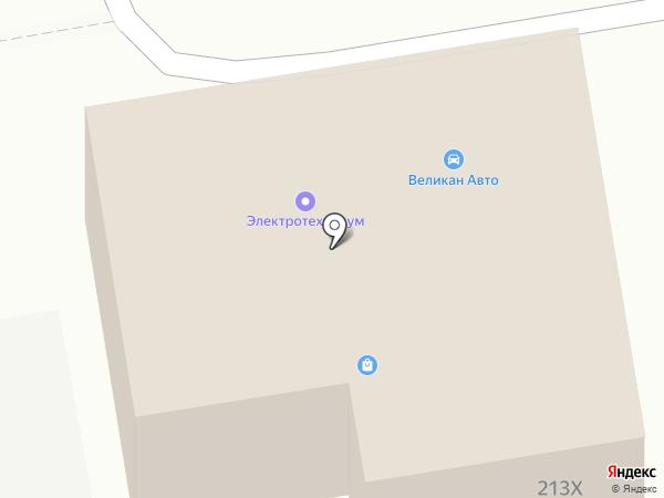 Электротехника на карте Абакана