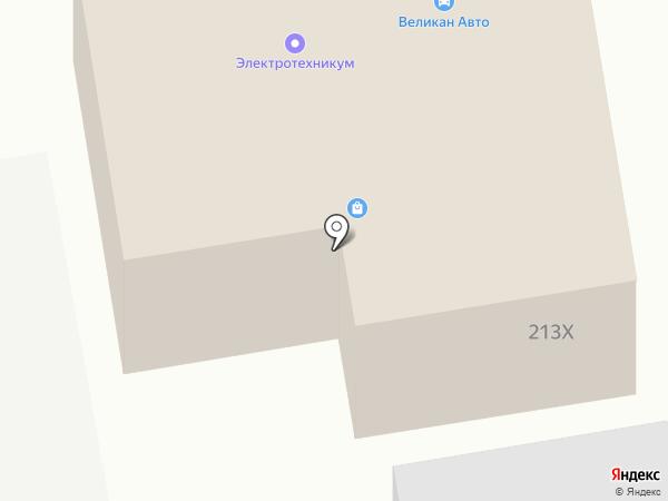 АбаканКранПрибор на карте Абакана