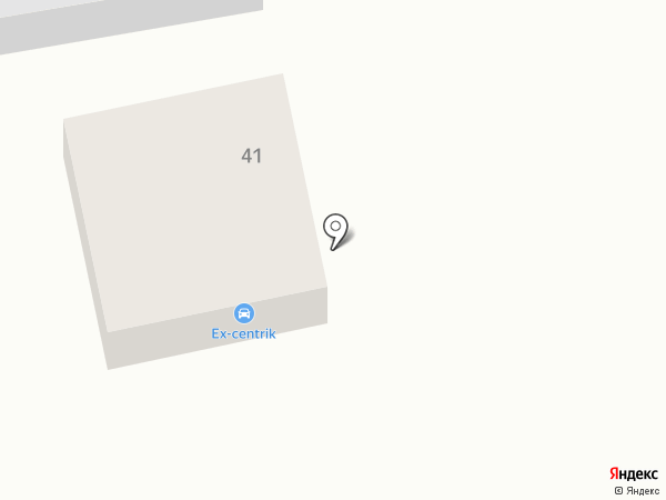 Ex-centrik на карте Абакана