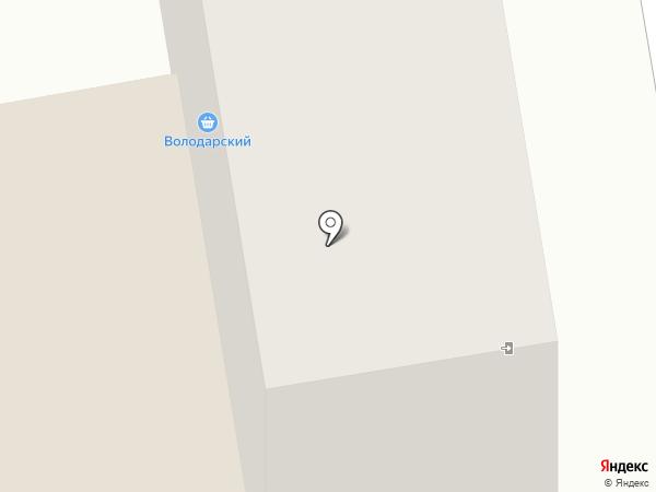 Володарский на карте Абакана