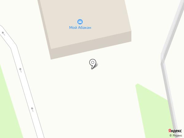 Юкос на карте Абакана