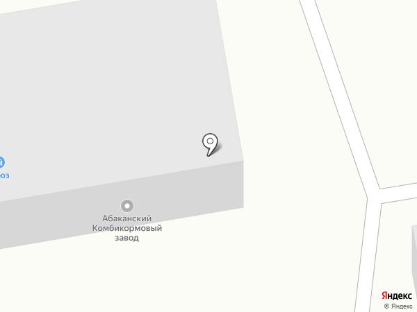 Резидент на карте Абакана
