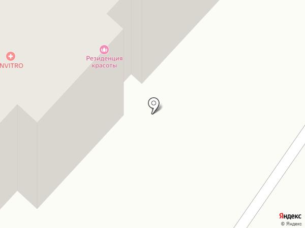 Шатенка на карте Абакана