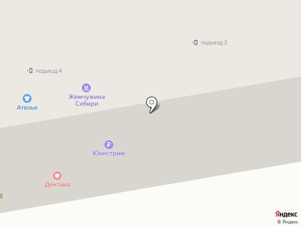 Территориальное общественное самоуправление Западного района на карте Абакана