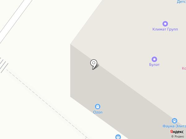 Климаt Групп на карте Абакана