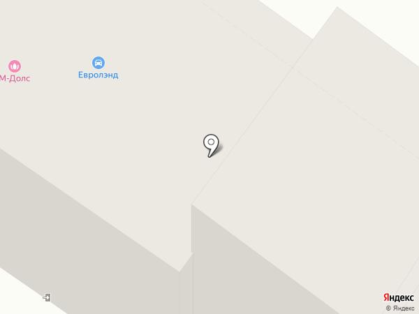Мегаполис на карте Абакана