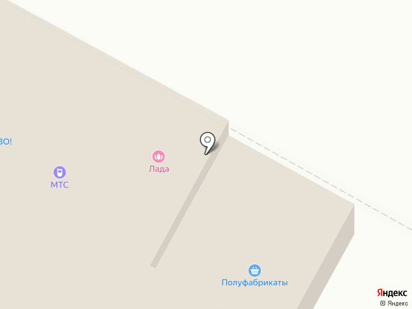 Лада на карте Черёмушек