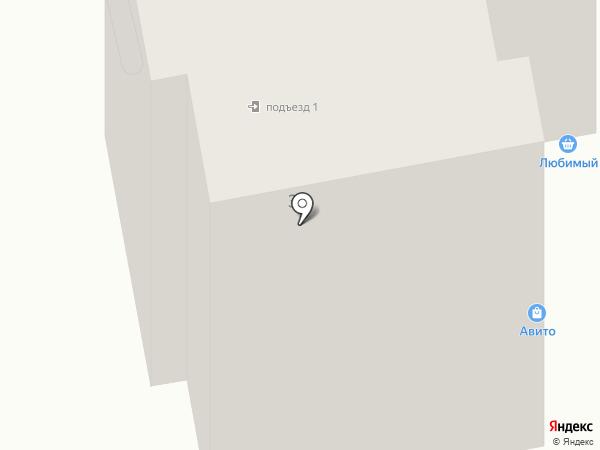 Любимый на карте Абакана
