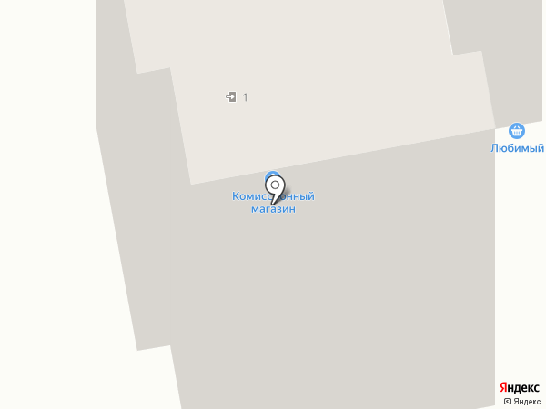 Абаканский городской ломбард на карте Абакана