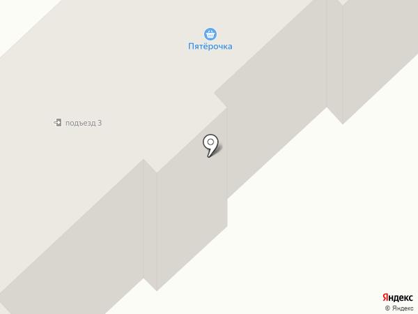 Лазурь на карте Абакана