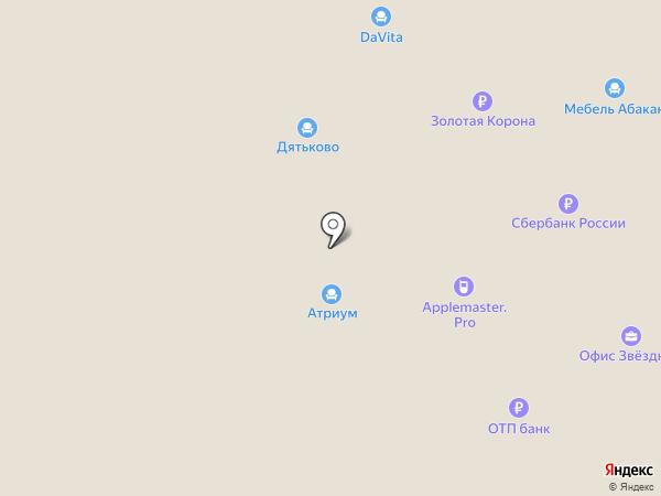 ЛаиТа на карте Абакана