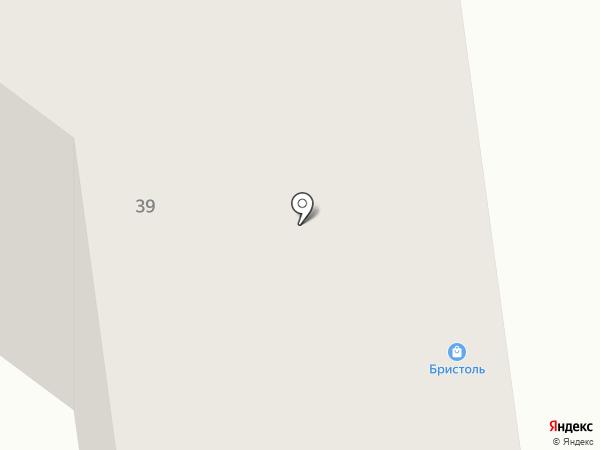 Эпицентр на карте Абакана