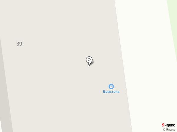 Власта на Дружбе на карте Абакана
