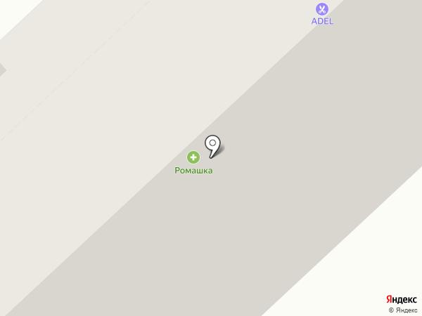 Техтонер на карте Абакана