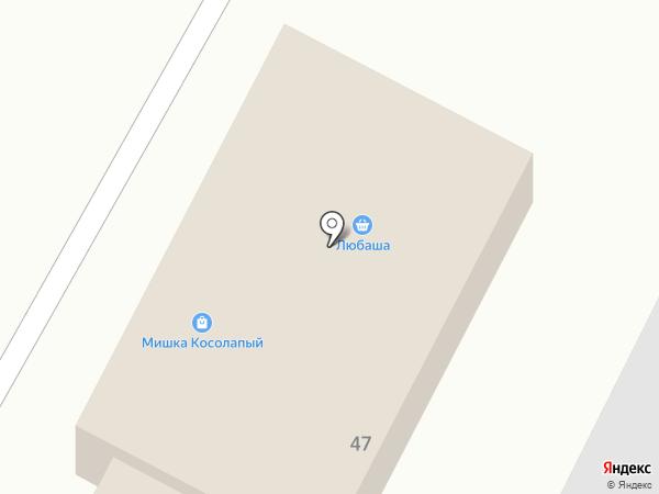 Мишка косолапый на карте Черёмушек