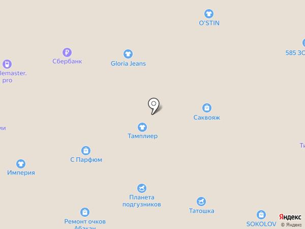 Akcent на карте Абакана