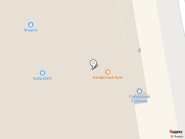 Магазин одежды на карте Абакана