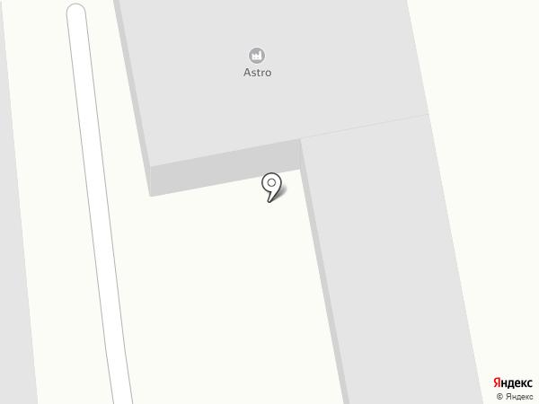 МехЗавод №1 на карте Абакана