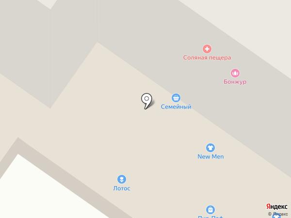 ОМ на карте Абакана