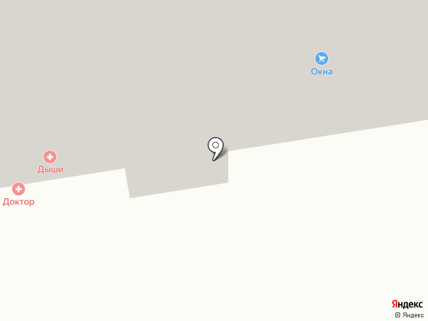 Метрон на карте Абакана