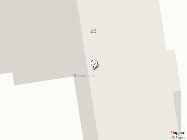Тиккурила на карте Абакана