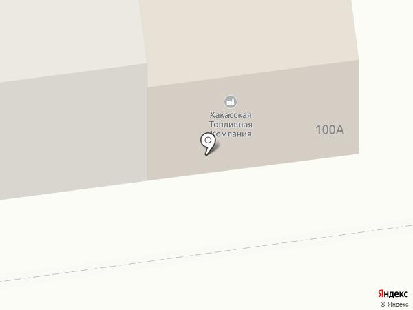 DFM, FM 101.7 на карте Абакана