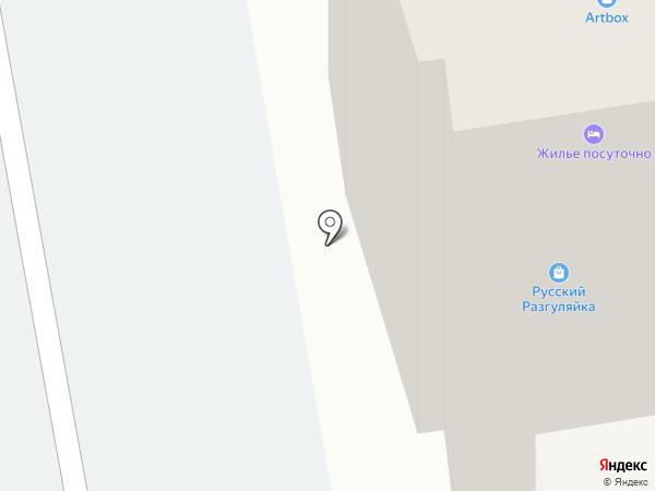 АЖФ на карте Абакана