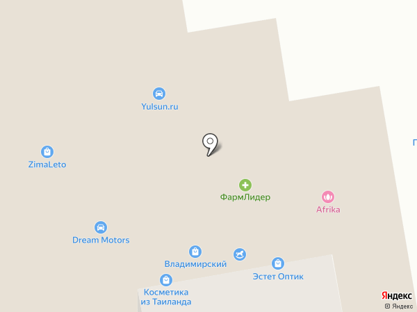 База на карте Абакана
