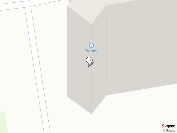 Банк Бир на карте Абакана